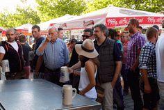 Volksfest Pfaffenhofen 2015: Volksfest Pfaffenhofen 2015 öffentliche Bierprobe