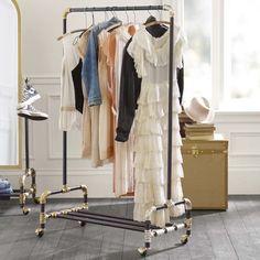 20 Soluciones inteligentes de almacenamiento Si usted lucha organizar su armario - Top Inspiraciones