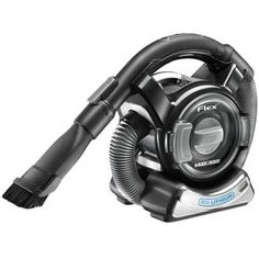 The versatile Black & Decker PLATINUM 20V MAX* Lithium FLEX™ Vac (BDH2000FL) maintains strong suction and features an innovative four-foot flexible hose that allows users to access hard to reach areas and tight spots.     http://platinum.blackanddecker.com/Hand-Vacuums/BDH2000FL.aspx