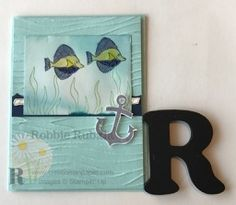 https://creationsinpaper.com/dry-embossing-meets-glossy-card-stock/     | Stampin' Up | Stampin' Up cards | | card making ideas | | papercrafts | dry embossing | dry embossing techniques |     This card uses an embossing folder that sets the stage for a great underwater scene.