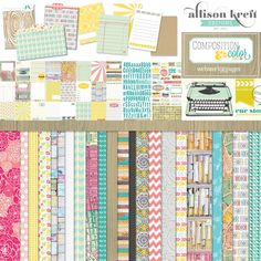 Can't wait to get this new Websters Pages line by Allison Kreft designs!