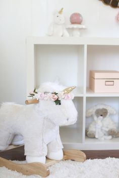 Unicorn Rocker @potterybarnkids