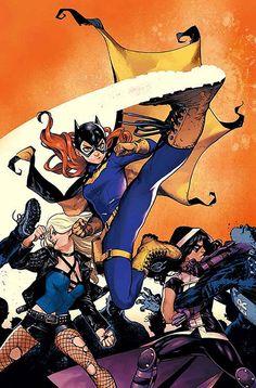 Batgirl and the Birds of Prey by Karmome Shirahama