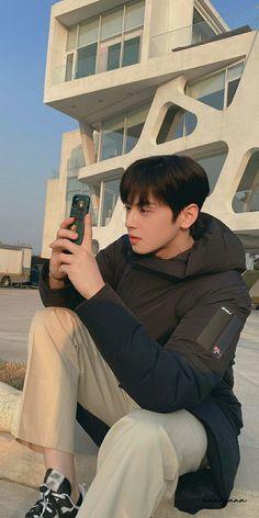 Korean Male Actors, Handsome Korean Actors, Korean Celebrities, Handsome Boys, Cute Korean Boys, Cute Boys, Cha Eunwoo Astro, Astro Wallpaper, Lee Dong Min