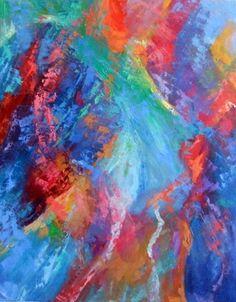 "Saatchi Online Artist Gay Gawron; Painting, ""Untitled "" #art"