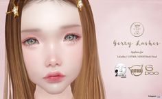 Gerry Lashes For Mesh Head Group Gift by C'est la vie