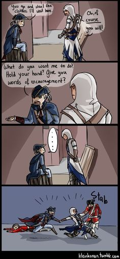 That stab just kills me XD