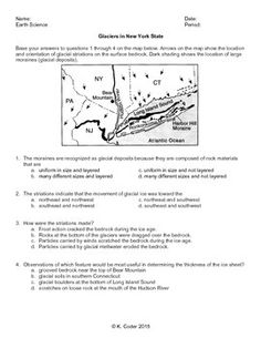 Worksheet - New York State Landscapes and the ESRT *Editable ...