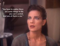 - Jadzia Dax, Let He Who is Without Sin