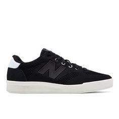 300 Engineered Knit Men's Court Classics Shoes - Black/White (CRT300RE)