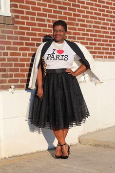 curvy women, curvy, curvy girls, plus size skirts, tutu, tulle skirts, eshakti, paris, leopard print, tuxedo blaze...
