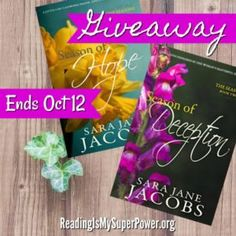 Author Interview (and a Giveaway!): Sara Jane Jacobs & The Seasons series - Reading Is My SuperPower
