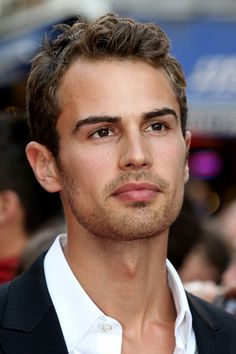 Theo James. He's actually the perfect four!