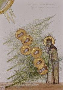 Romania-by Elena Murariu~~~Icon St Clare's, St Francis, Orthodox Icons, Religious Art, Romania, Saints, Images, Printing, Easter