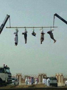 Sharia execution in Saudi Arabia