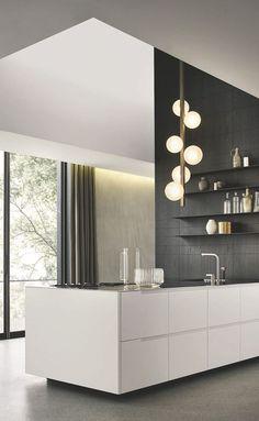 Stylish Kitchen Cabinet Ideas and DIY Design (Modern, Simple, Vintage, Rustic) Home Decor Kitchen, Kitchen Design, Kitchen Ideas, Stylish Kitchen, Open Kitchen, Kitchen Cabinetry, Cuisines Design, Kitchen Styling, Kitchen Storage