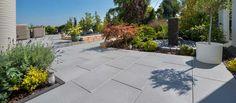 Madison Terrassenplatten in stone grey