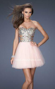 La Femme Short Prom Dress 19701 //