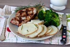 4 Minute Rosemary Garlic Potatoes