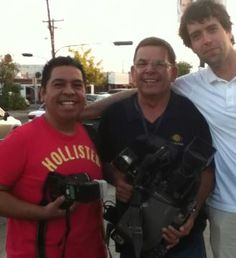 Con Fotógrafo Gilberto Moreno, Camarógrafo Sergio Hernandez y Chef Manuel Salcido!!! buena vibra!!!