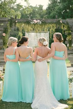 Light Blue Country Wedding with Rustic and DIY Details
