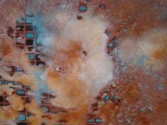 "Saatchi Art Artist Agata Padol; Painting, ""Above the clouds #1"" #art"