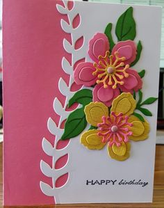 Botanical Blooms by Patti S. Brown - Cards and Paper Crafts at Splitcoaststampers