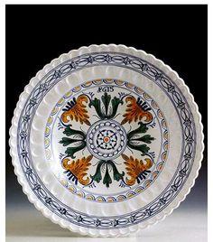 Habán Kerámia tál nagy méretű ♥ Decorative Plates, Ceramics, Tableware, Home Decor, Dishes, Cuban Cigars, Ceramica, Homemade Home Decor, Dinnerware