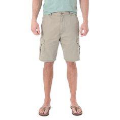 Wrangler Men's Cargo Shorts - Dark Khaki (Green) 46