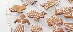 Svenska pepparkakor Pepparkakor, Gluten Free Recipes, Gingerbread Cookies, Free Food, Sweden, Dairy Free, Scandinavian, Biscuits, Entertaining