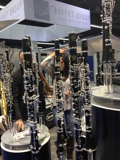 The most popular professional clarinet in the world, the Buffet R13.