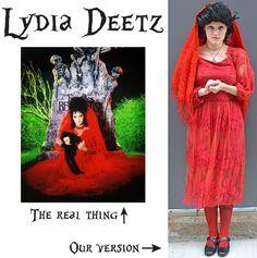 Lydia wedding dress by ryoko demon on deviantart halloween lydia deetz costume diy halloween solutioingenieria Choice Image