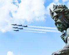BLUE ANGELS ~ OPSAIL 2012 Airshow @ Neptune Park in Virginia Beach