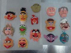 fondant muppets