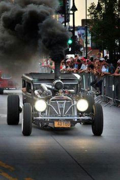 Model T Smoker, the anti-Prius
