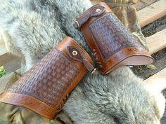 Texas Star Cowboy Cuffs - Mr. Legendary Leather