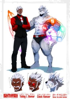 Beast Rancer Tobby L. Bomar by javidavie on DeviantArt
