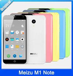 Original Meizu M1 Note 4G FDD LTE Dual SIM Mobile Phone 5.5″ 1920X1080P MTK6752 Octa Core 13MP Android 4.4 Flyme 4.1 2GB+16GB