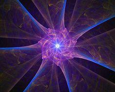 A quantum fractal energy mandala, majestic in terms.