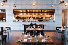 The Optimist: Ford Fry's oyster bar and fishcamp receives every culinary accolade under the sun and the restaurant interior and branding is unparalleled. The wood roasted oysters and smoked white fish chowder are too-die-for and the desserts are worth creating room for.