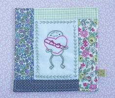 because frogs eat flies . that's a totally normal and valid consideration when deciding on an embroidery stitch, right? - Pretty by Hand - Wild Olive, Valentines Mugs, Place Mats Quilted, Running Stitch, Mug Rugs, Cross Stitch Designs, Paper Piecing, Cross Stitch Embroidery, Needlepoint