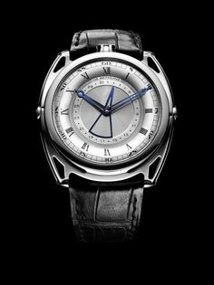 """The De Bethune DB27 Titan Hawk: De Bethune's New """"Entry Level""""Watch. Really appreciate the top crown and the date hand."""