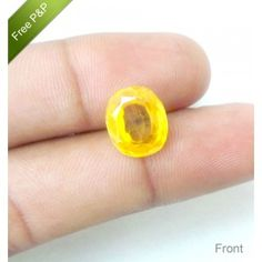 Natural Yellow Topaz Gemstone CT-8.45