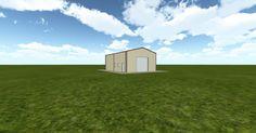 3D #architecture via @themuellerinc http://ift.tt/2uYgFrn #barn #workshop #greenhouse #garage #DIY
