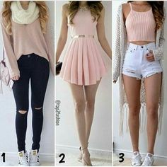 *a c v* outfits in 2019 ropa Cute Outfits For School, Teen Fashion Outfits, Cute Casual Outfits, Girly Outfits, Simple Outfits, Cute Fashion, Outfits For Teens, Fall Outfits, Summer Outfits