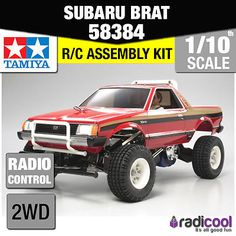 58384 tamiya #subaru brat - 2 bodies #1/10th r/c kit #radio control 1/10 car new!,  View more on the LINK: 	http://www.zeppy.io/product/gb/2/351882817504/