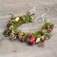 Seasonal flower crown for a summer wedding by The Irish Flower Farmer Flower Farmer, Irish Wedding, Seasonal Flowers, Flower Crown, Summer Wedding, Wedding Flowers, Bouquet, Wreaths, Seasons