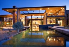 House in Oro Valley by Kevin B Howard Architects