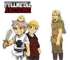 TheFullmetal Awesomest by dieingcity.deviantart.com on @deviantART