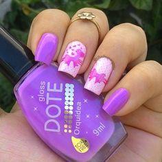 Cute nails ^^ follow my #instagram @cibellegrangeira